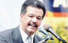History of the Dominican Republic - President  Leonel Fernandez