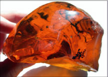Beautiful Dominican amber