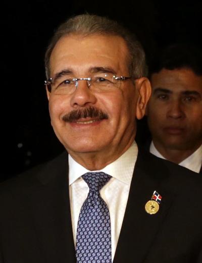Danilo Medina Sanchez president dominican republic