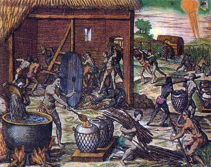 Tainos and Africans early inhabitants of Dominican Republic