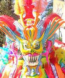 Dominican Carnaval Masks