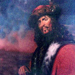 A Rum do! Famous pirate leader Henry Morgan