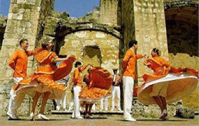 bailando merengue