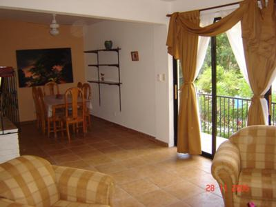 Apt 3: A 1,000 square 2 bedroom 1 bath unit at Perla de Sosua
