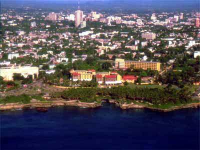 Sant Dominigo capital City of the Dominican Republic